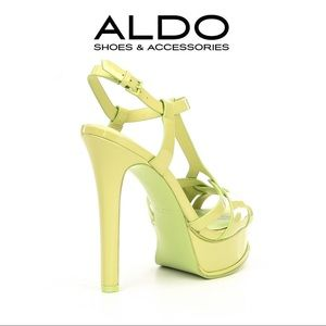 beab7ad162f Aldo Shoes - ALDO- Chelly Platform Sandals- Pastel Green
